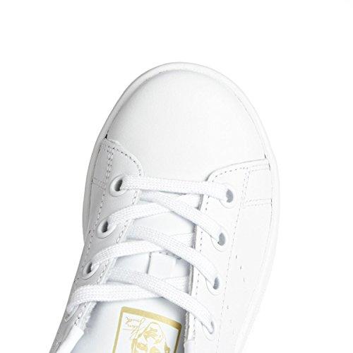 adidas Unisex-Kinder Stan Smith Sneaker Dekollete Weiß (Ftwbla/Ftwbla/Dormet)
