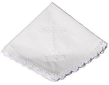 Amazon.com: Pañuelo de algodón pañuelo de regalo de bautizo ...