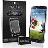 MOFRED® 6 in Pack Screen Protector Value Pack For Samsung Galaxy S4 IV i9500 Retail Packed with Cleaning Cloth And Application Card