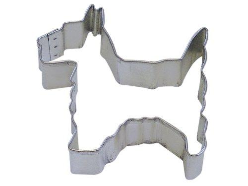R&M Cookie Cutter, 2.5-Inch, Scottie, Tinplated Steel (Scotty Dog Cookie Cutter)