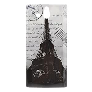 Tower Pattern Hard Case for Sony Xperia U ST25i