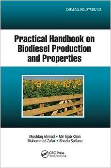 Book Practical Handbook on Biodiesel Production and Properties