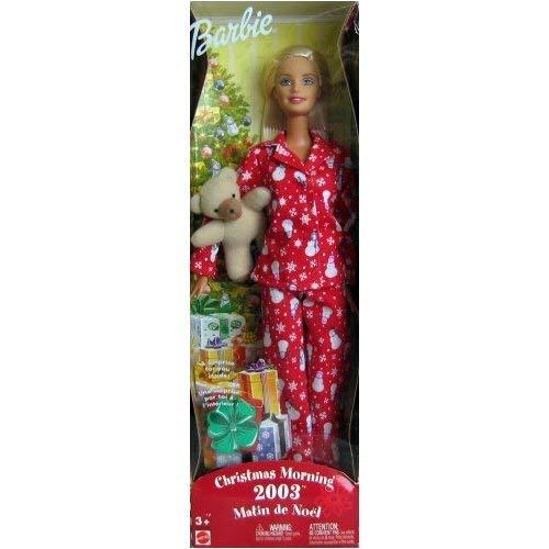 Mattel Barbie Christmas Morning 2003 -