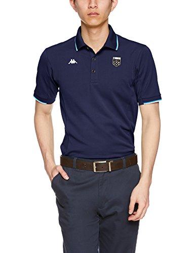 [カッパゴルフ] 半袖シャツ Azzurro KG812SS24 [メンズ]