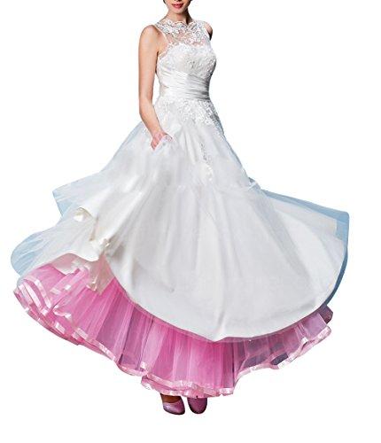 femme Jupon Jupon 100cm Rockabilly longueur Bbonlinedress pour Rose mariage wx5EZHdqWp