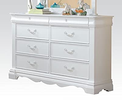 ACME Furniture 30245 Estrella Dresser, White, One Size