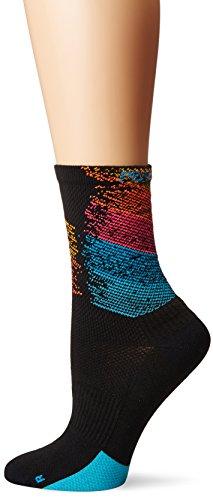 Pearl iZUMi Women's Elite Tall Socks, Diffuse Prism, Medium