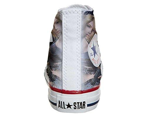 Scarpe Converse All Star personalizzate (scarpe artigianali) Pretty girls