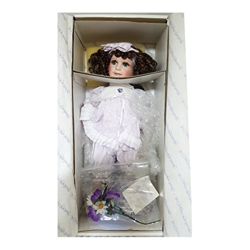 (Hamilton Heritage Vintage Kimberly Porcelain Doll Designer Jane Zidjunas 16