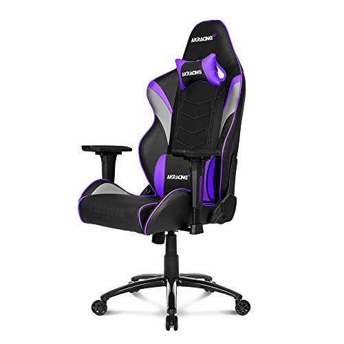 AKRacing Core Series LX Gaming Chair with High Backrest, Recliner, Swivel, Tilt, Rocker and Seat Height Adjustment Mechanisms with 5/10 Warranty - Indigo