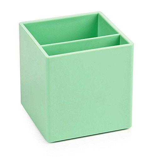 Poppin Pen Cup Holder Mint Green Office Desk Organizer Accessories (Large Image)