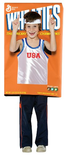 Wheaties Cereal Box Kids Costume