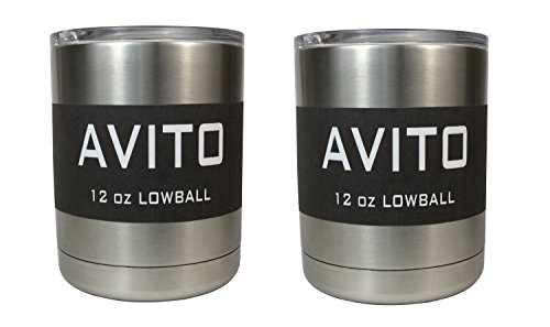 Lowball Stainless Avito Coffee Drinks product image