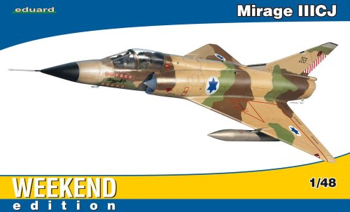 Used, Eduard Models Mirage IIICJ Weekend Edition Aircraft for sale  Delivered anywhere in USA
