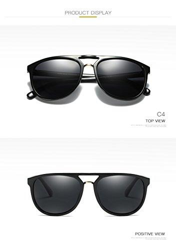 Hombre 400 Aviator Sol C2 Polarizadas De para Mujer C3 Gafas para Protección UV qUwv0C5