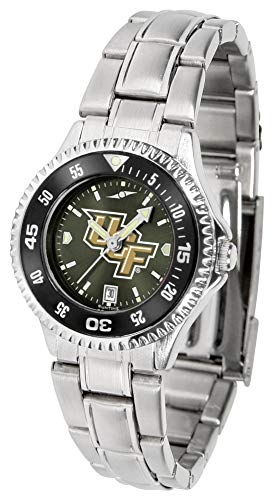 Central Florida Knights - Competitor Ladies' Steel AnoChrome - Color - Watch Ladies Sport Steel Knights