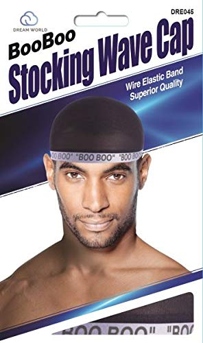 Dream, Boo Boo STOCKING WAVE CAP, Wire Eastic Band (Item #045 - Cap Quality