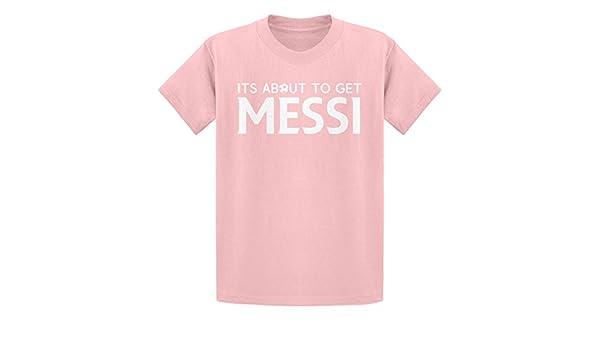 Indica Plateau Obtener Messi Camiseta de la Juventud - Rosa ...