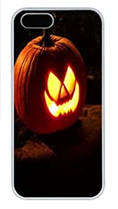 Halloween 4 Polycarbonate Hard Case Cover for iPhone 5/5S White