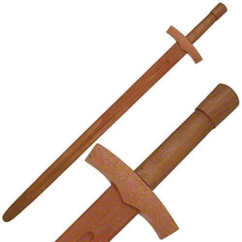 BladesUSA-1608-Martial-Art-Hardwood-Long-Sword-Training-Equipment-385-Inch