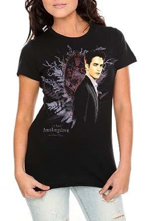 Twilight Breaking Dawn Edward Crest Girls T-Shirt Size : X-Small