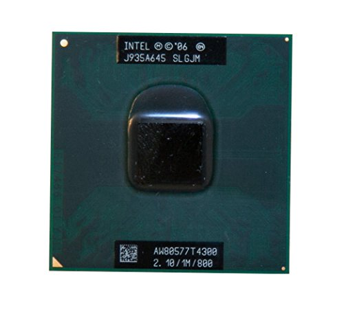 (Intel Pentium Dual-Core T4300 SLGJM 2.1GHz 1MB Mobile CPU Processor Socket P 478-pin)