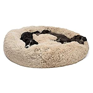 Segle Deluxe Soft Washable Dog Pet Warm Cuddle Bed Cushion Comfortable Puppy Kitten Pet Cat Pad Dog&Cat Cave 40 * 40CM (Gray) 8