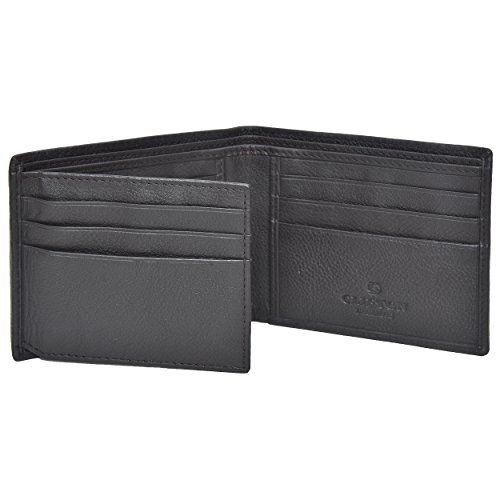 Clifton Heritage Mens Mens Leather Wallets Money Clips Card Cases Top Models To ChooseBrown Small by Clifton Heritage (Image #2)