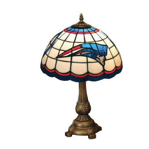 Nfl Football Logo Tiffany Lamp - NFL New England Patriots Tiffany Table Lamp