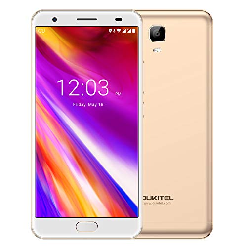 Unlocked Cell Phones, Oukitel OK6000 Plus 6080mAh Big Battery Smartphone 5.5