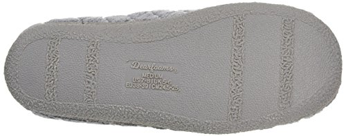 Terry with Dearfoams Foam Chaussons Memory Microfiber Quilted Clog Femme ZwEE76q