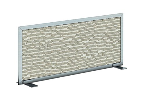 Obex 12X24A-A-CL-FS Acoustical Free Standing Privacy Screen, 12''X24'', Cloud