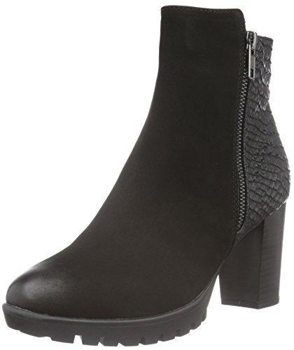 SPM Women's Haut Ankle Boots Black (Black/Black) MvRpMeA