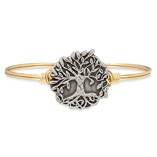 Luca + Danni Wishing Tree Bangle Bracelet - Regular/Brass Tone