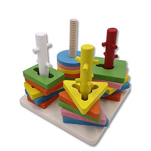 Darius Wooden Graphic Matching Toys, Child Intelligent Toys