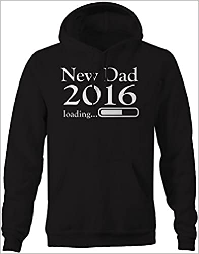 Lifestyle Graphix New Dad 2016 Loading Daddy Baby Birth Announcement Sweatshirt 4XL