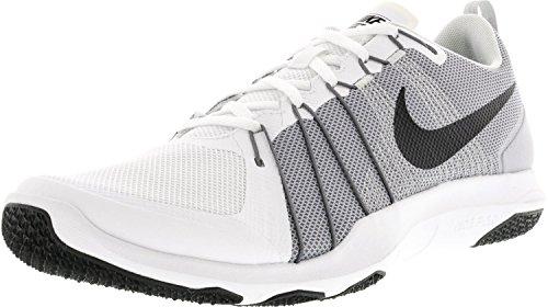 Men's pr Aver Shoes Black White Grey Nike Gymnastics Pltnm Blanco Flex Train wolf dOwFqU