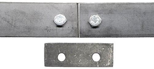 Double Sliding Barn Door Hardware Kit Top Mount Design with 8 Ft. Track Included - Made in USA by Mapp Caster (Image #5)