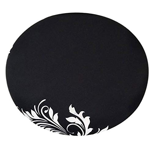 Fityle Elegant Removable Bar Stool Replacement Cover Round Chair Seat Cover Protector Desk Salon Sleeve - Style_8 by Fityle (Image #4)