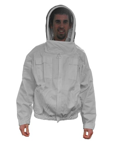 MANN LAKE Economy Beekeeper Jacket with Self Supporting Veil