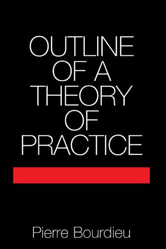 Outline of a Theory of Practice (Cambridge Studies in Social and Cultural Anthropology) (Pierre Bourdieu The Field Of Cultural Production)