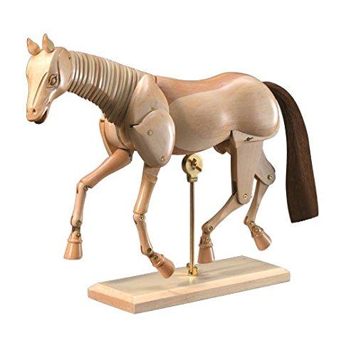 Heritage Arts CW401 12 inch Wooden Horse Manikin