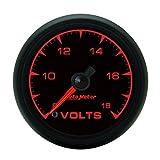 Auto Meter 5991 ES 2-1/16'' 8-18V Full Sweep Electric Voltmeter