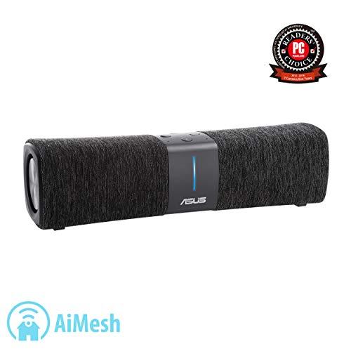 ASUS Lyra Voice Wireless AC-2200 Tri Band Gigabit WiFi Smart Speaker Whole Home Mesh Router - Amazon Alexa Built-in