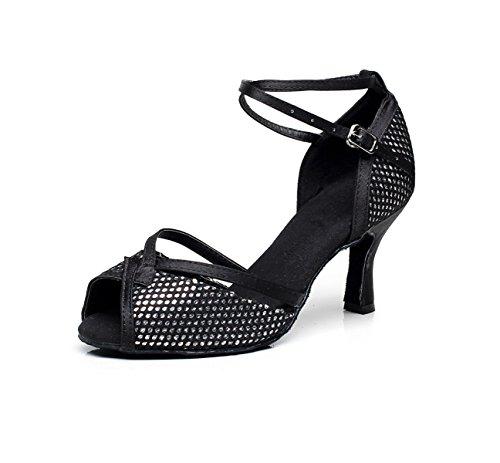 Sandales Modernes Jshoe Pour Hauts Our43 Eu42 De Danse 5cm Salsa 5 Talons Tango Femme uk7 Latine Jazz Samba Noirs7 Chaussures Chacha wIIxPv