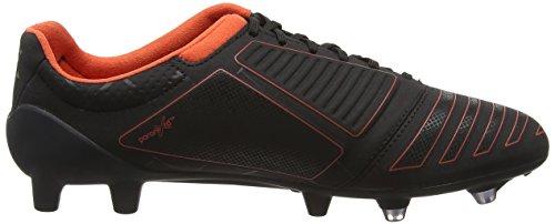 Umbro Ux Accuro Pro Hg, Botas de Fútbol para Hombre Negro (Ecb-Black/Metallic/Grenadine)