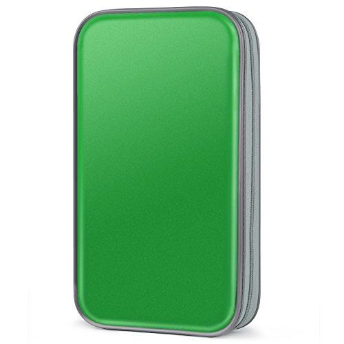 - Fanspack CD Case, 80 Capacity DVD Storage DVD Case VCD Wallet Storage Organizer Plastic Protective CD Case Holder