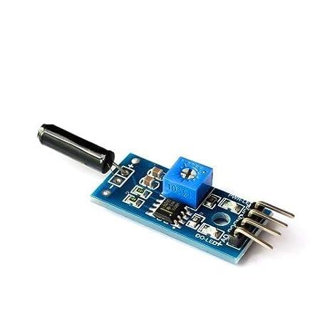 ExcLent Módulo De Vibración De Sensor De Vibración De Alta ...