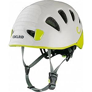 EDELRID Shield II Softshell Climbing Helmet, Pebbles/Oasis, Small