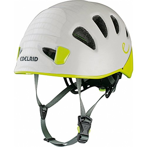 EDELRID Shield II Softshell Climbing Helmet, Pebbles/Oasis, Small